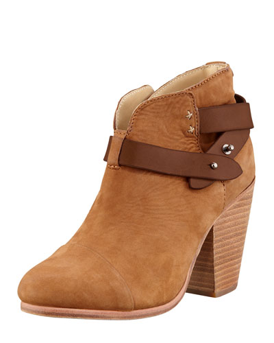 Rag & Bone Harrow Nubuck Ankle Boot, Camel