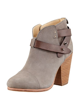Rag & Bone Harrow Nubuck Ankle Boot, Gray