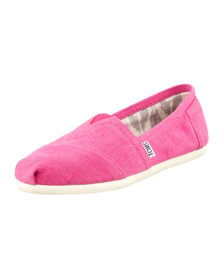 Earthwise Hemp Slip-On, Pink
