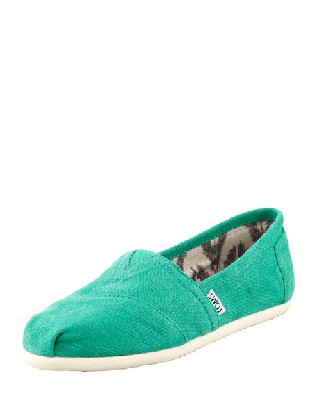 Earthwise Hemp Slip-On, Green
