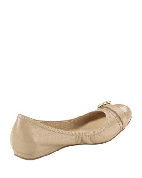 Air Reesa Buckle Ballerina Flat, Sandstone