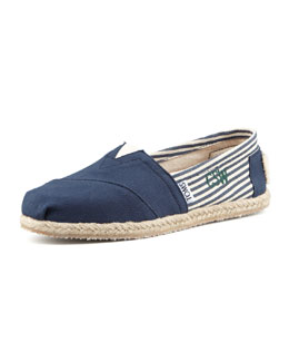 TOMS Personalized Classic University Slip-On, Navy