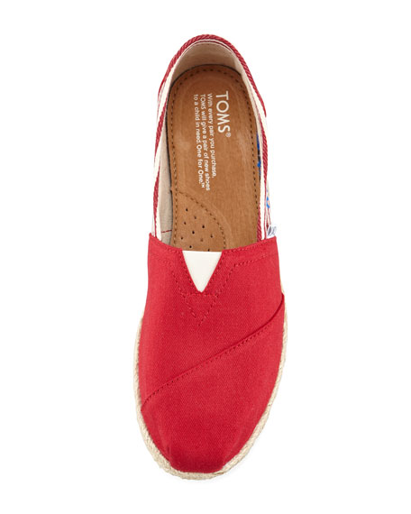Classic University Slip-On, Red