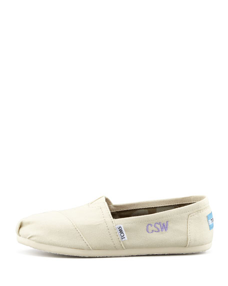 Classic Canvas Slip-On, Natural