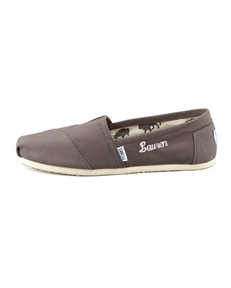 Classic Canvas Slip-On, Ash