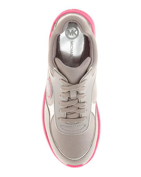 Walker Contrast-Trim Sneaker