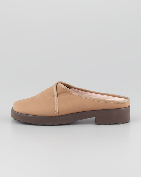 Tesse Stretch Slip-On Mule, Camel