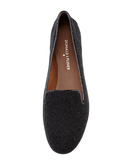 Denda Sparkle Loafer, Black