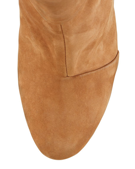 Newbury Leather Ankle Boot, Camel