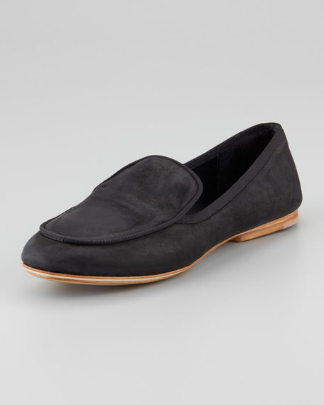 Beeman Leather Loafer, Black