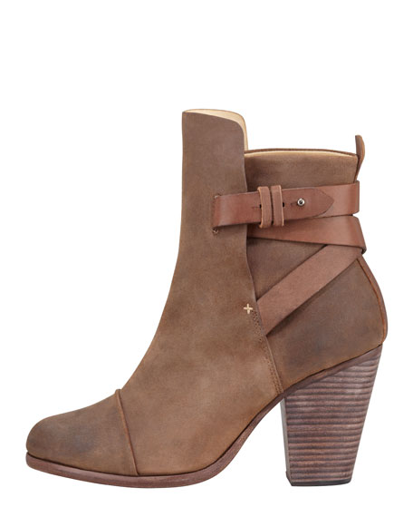 Kinsey Waxed Suede Bootie