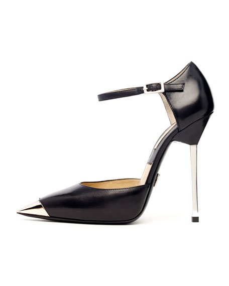 Arielle Runway Metal-Toe Pump
