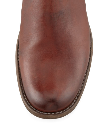 Phillip Tall Harness Boot, Cognac