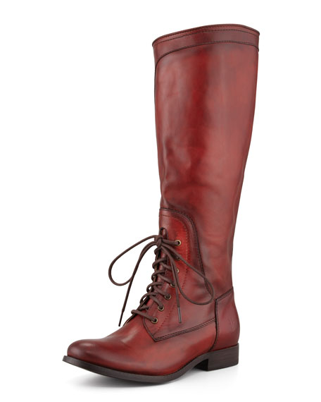 Frye Melissa Lace Up Riding Boot