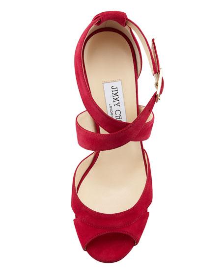 Kuki Suede Platform Sandal
