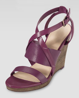 Cole Haan Pelham Wedge Sandal, Winery