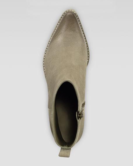 Reilly Short Nubuck Boot, Summer Khaki