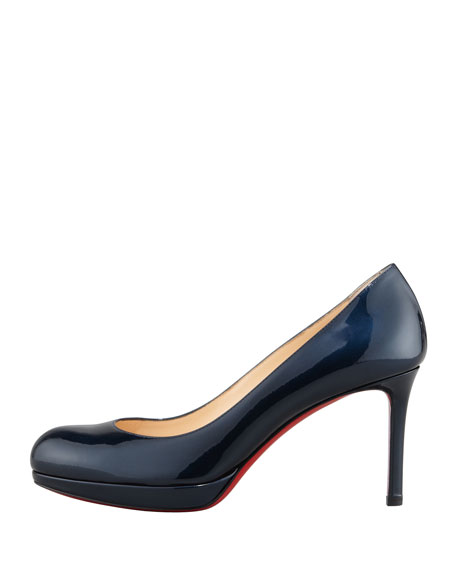 New Simple Patent Pump, Blue Khol