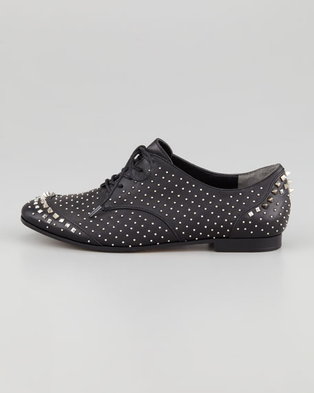 Greer Studded Leather Oxford