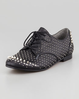 Rachel Roy Greer Studded Leather Oxford