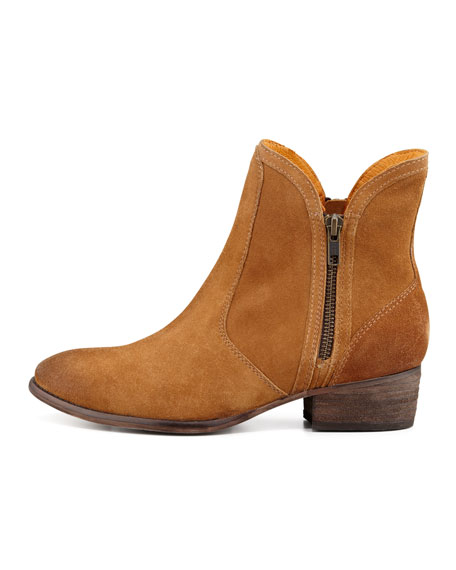 Lucky Penny Suede Bootie