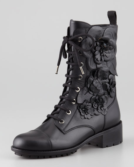Techno Couture Combat Boot