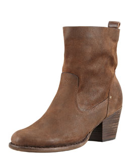 Rag & Bone Mercer II Suede Ankle Boot, Brown