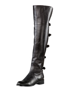 Valentino Flat Over-the-Knee Boot