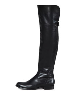 Frye Melissa Over-the-Knee Boot, Black