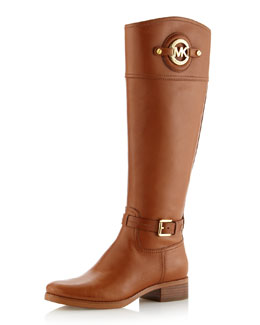 MICHAEL Michael Kors  Stockard Leather Riding Boot