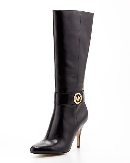 Caroline Leather Knee Boot