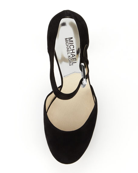 Haven Suede Platform Pump