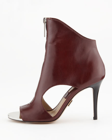Mila Zip-Front Sandal