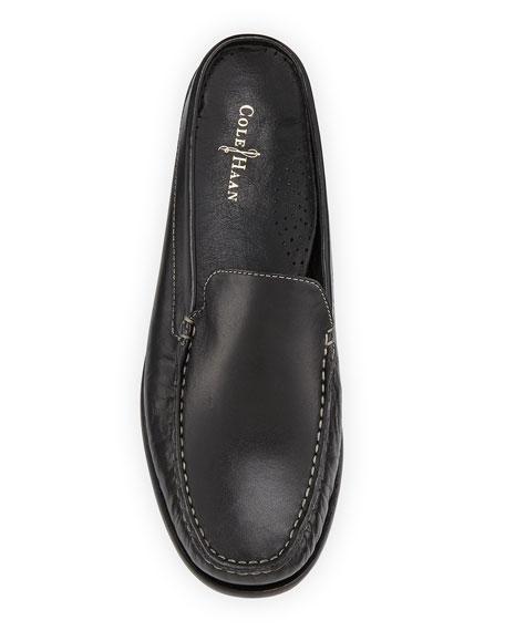 Ryann Leather Mule, Black
