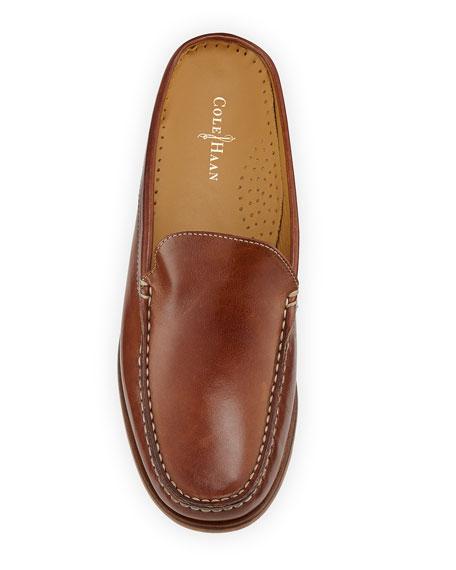 Ryann Leather Mule, Saddle Tan