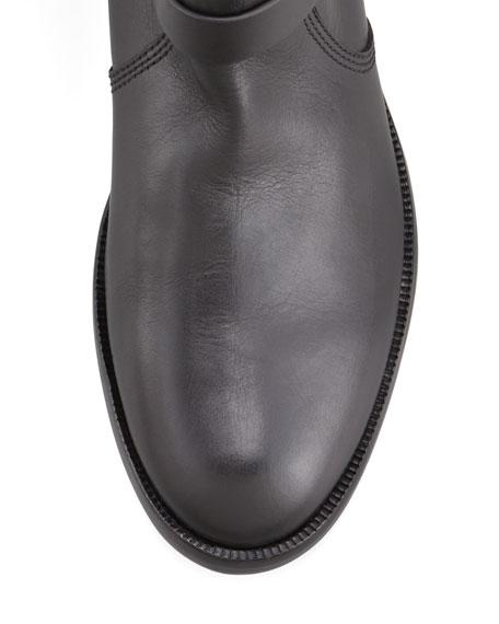 Karren Leather & Suede Knee-Length Boot
