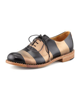 The Office of Angela Scott Mr. Smith Striped Oxford