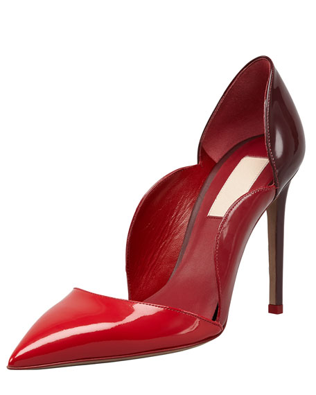 Rouge Absolute Patent Scallop Pump