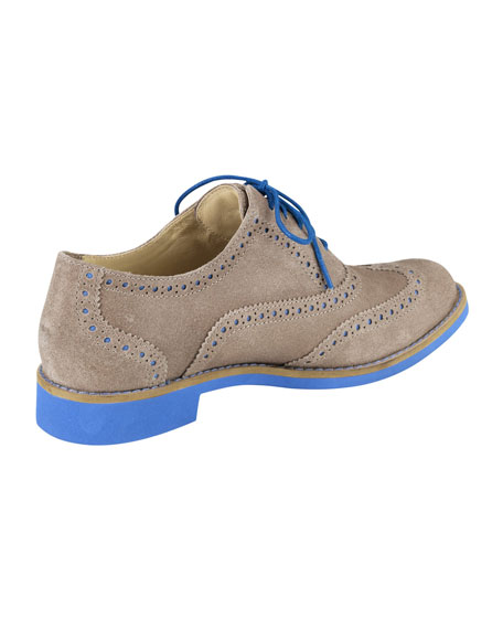 Alisa Brogue Oxford, Maple Sugar/Blue