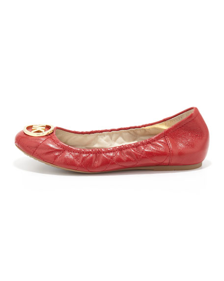 Fulton Quilted Ballet Flat
