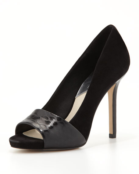 Leighton Peep-Toe Pump