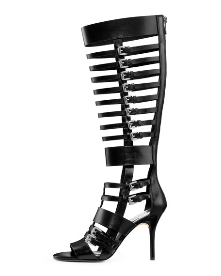 Wesley Heeled Gladiator Boot