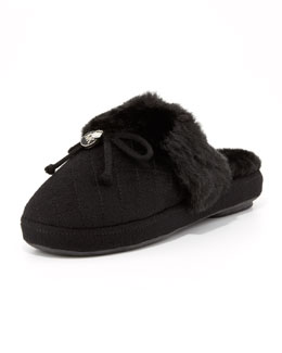 MICHAEL Michael Kors Carter Plush Slipper