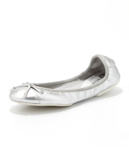MICHAEL Michael Kors City Metallic Ballet Flat