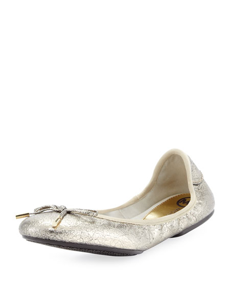City Metallic Ballet Flat