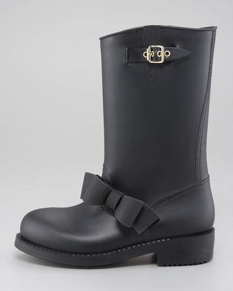 PVC Bow-Detail Rain Boot