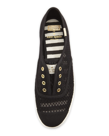 Keds fisher mesh sneaker, black