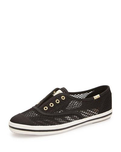kate spade new york Keds fisher mesh sneaker, black