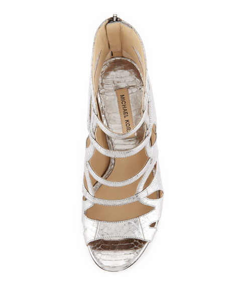 Casey Snakeskin Strappy Sandal