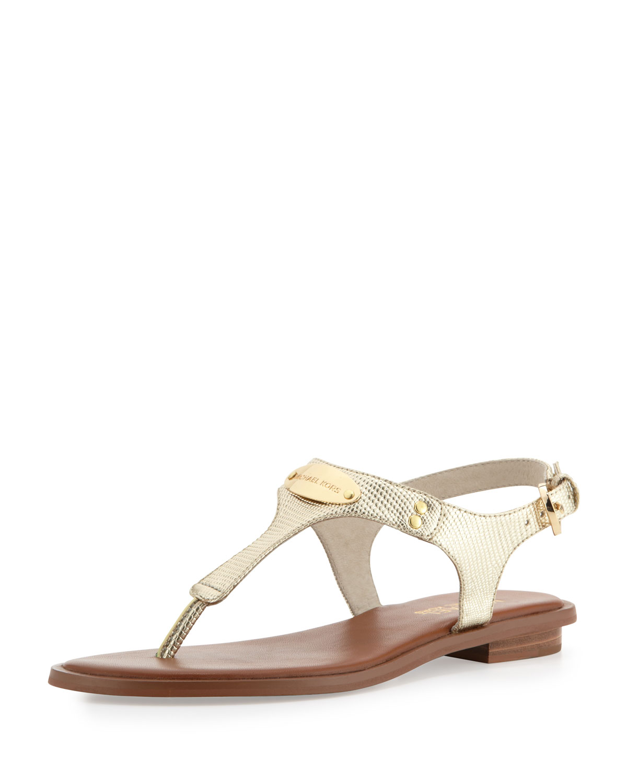 fdd4650ef7c8 MICHAEL Michael Kors Plate Thong Sandal